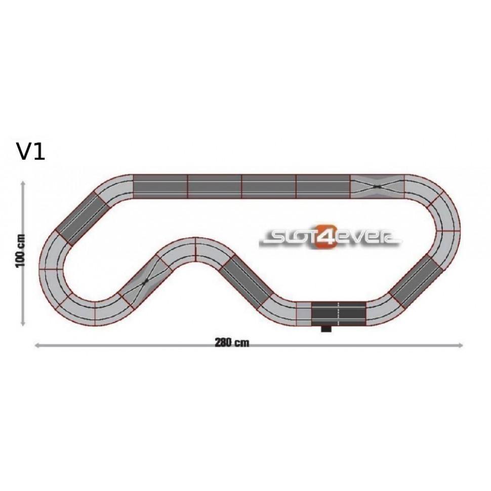 Pack de ampliacion Circuito de Scalextric Advance Rally Cross V1