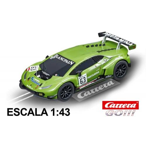 Coche Carrera Go Lamborghini Huracan GTE n 63