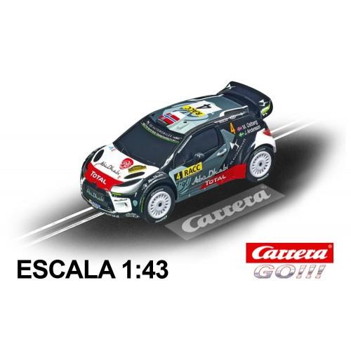 Coche Carrera Go Citroen DS3 WRC 2015 Ostberg Rally Catalunya Spain