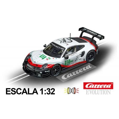 Coche Carrera Evolution Porsche 911 RSR Porsche GT Team n93