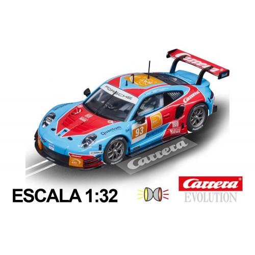 Coche Carrera Evolution Porsche 911 RSR Carrera n93