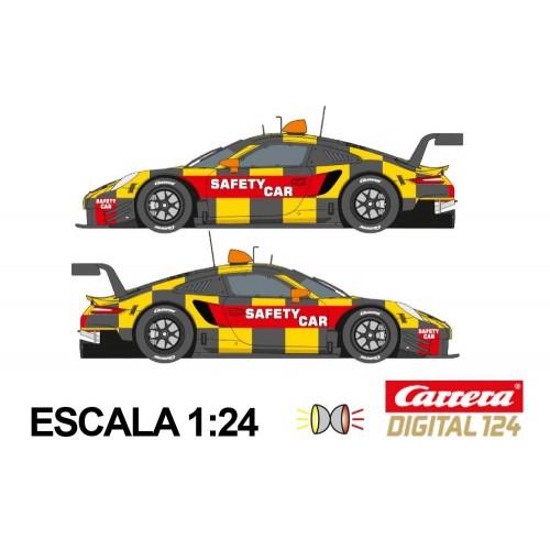 Coche Carrera Digital 124 Porsche 911 RSR Pace Car Ed Limitada