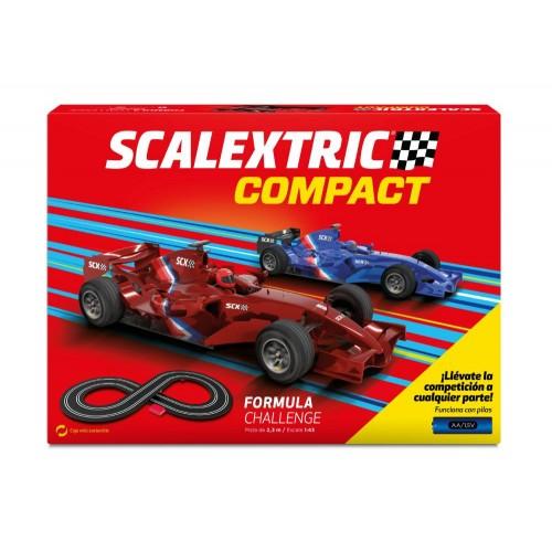 Circuito de Scalextric Compact Formula Challenge a pilas