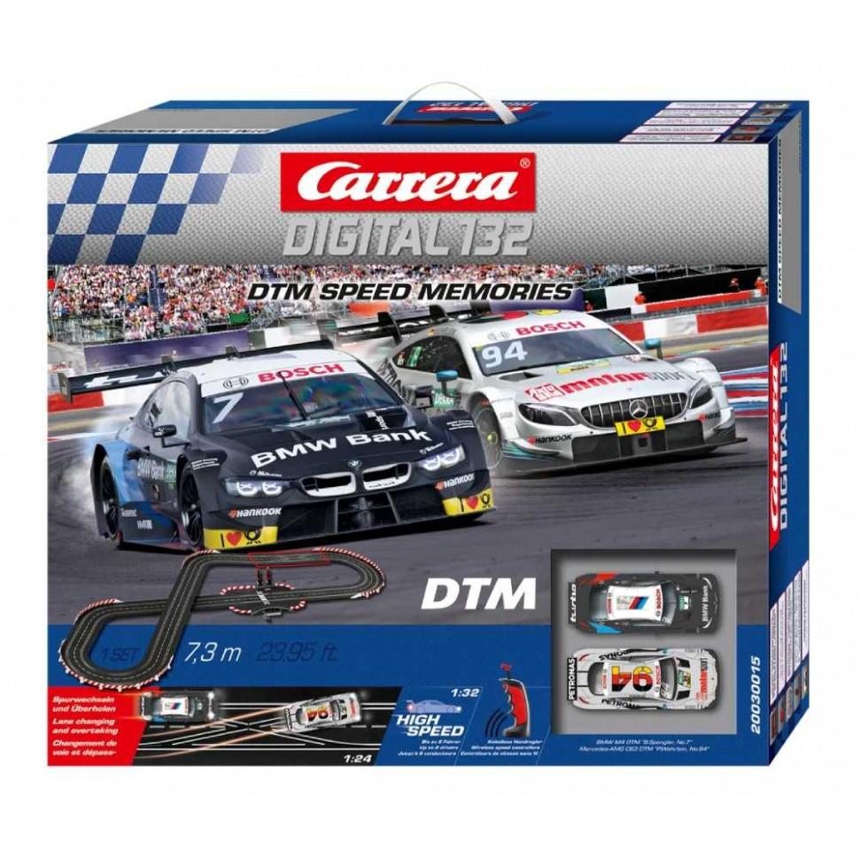 Circuito Carrera Digital 132 DTM Speed Memories Wireless
