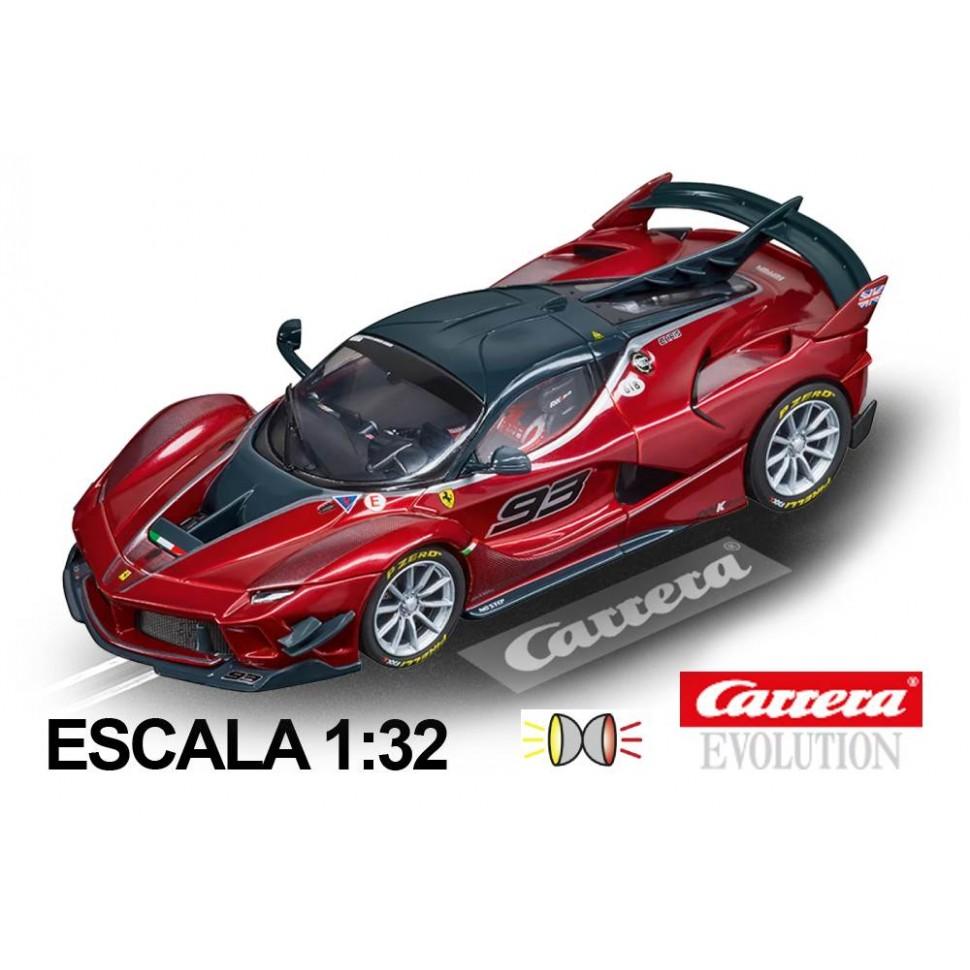 Coche Carrera Evolution Ferrari FXX K Evoluzione n93