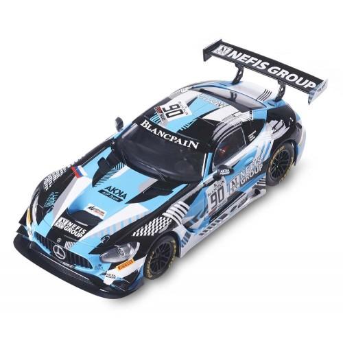 Coche de Scalextric Analogico Mercedes AMG GT3 Nefis
