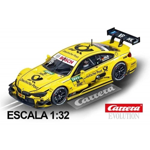 Coche Carrera Evolution BMW M4 DTM Glock