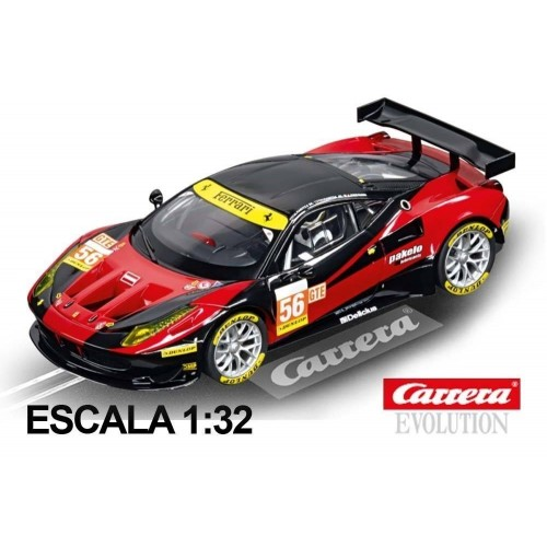 Coche Carrera Evolution Ferrari 458 Italia GT2 AT Racing