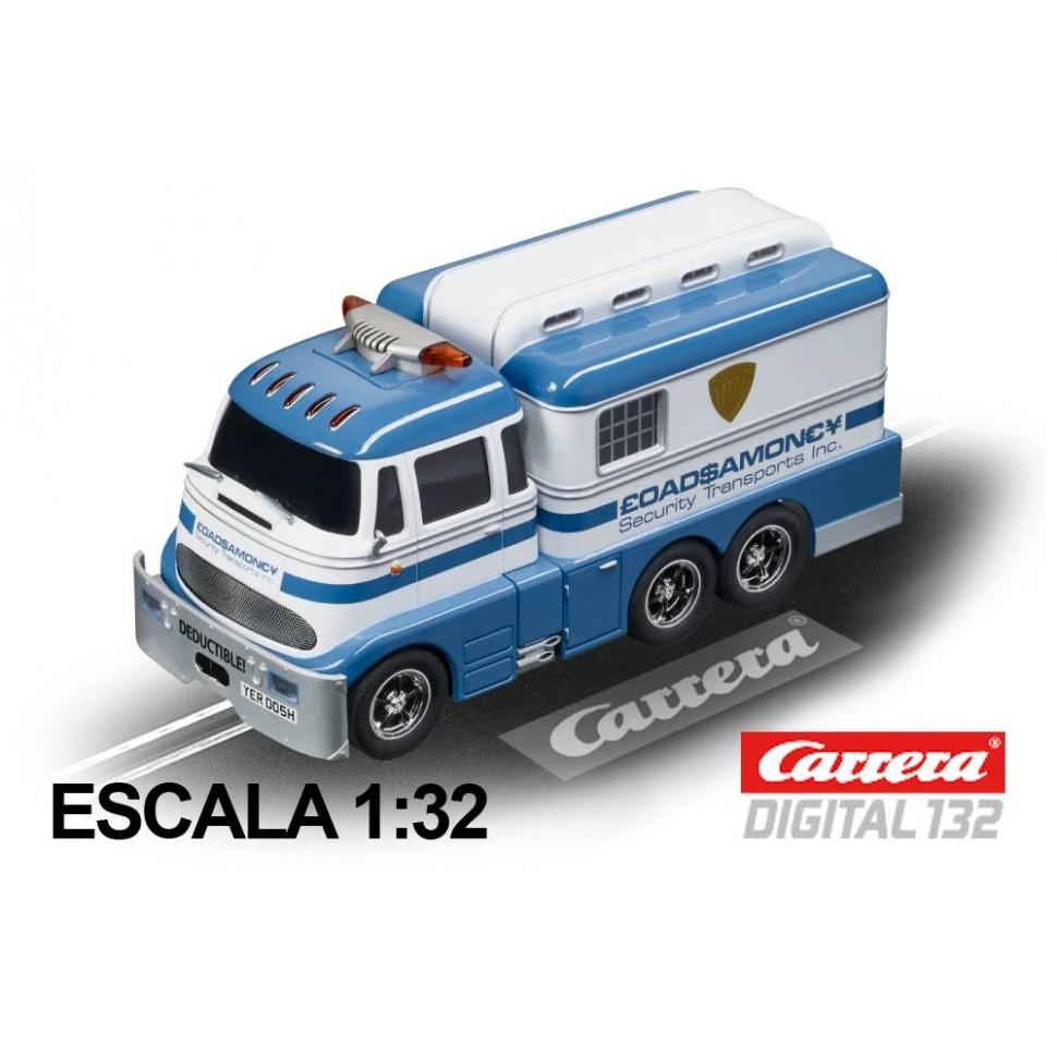 Coche Carrera Digital 132 Furgon de Seguridad Dinero