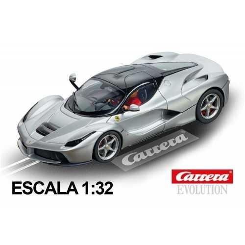 Coche Carrera Evolution Ferrari LaFerrari aluminio