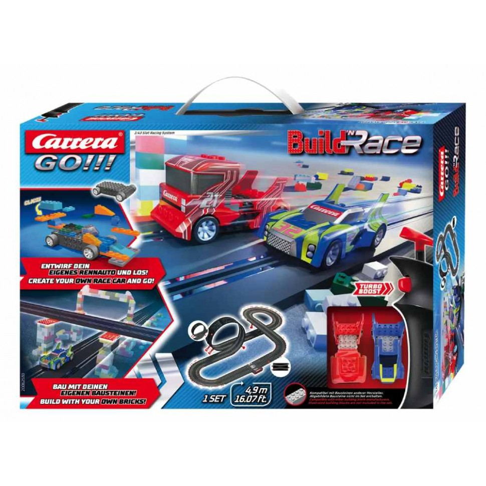 Circuito Carrera Go Build n Race Racing Set