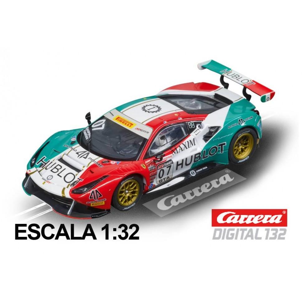 Coche Carrera Digital 132 Ferrari 488 GT3 Squadra Corse Garage Italia n7