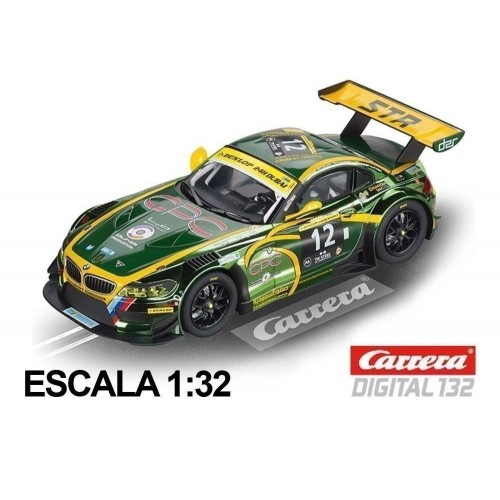 Coche Carrera Digital 132 BMW Z4 GT3 Schubert