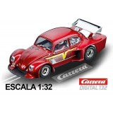 Coche Carrera Digital 132 VW Kafer Grupo 5 granate