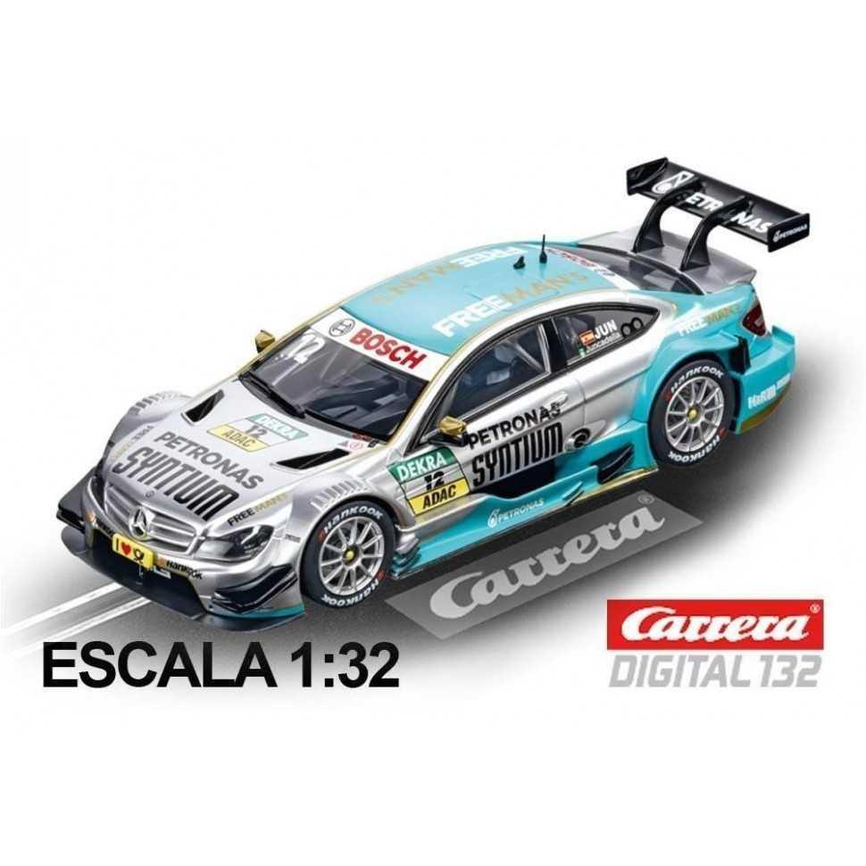 Coche Carrera Digital 132 Mercedes C-Coupe DTM Juncadella