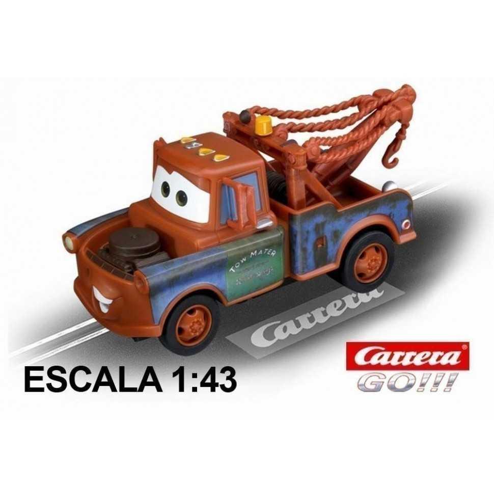 Coche Carrera Go Disney Pixar Cars Mater