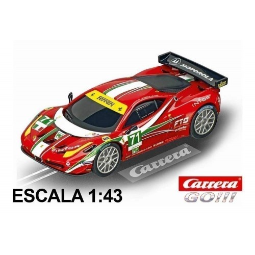 Coche Carrera Go Ferrari 458 Italia GT2 AF Corse 71