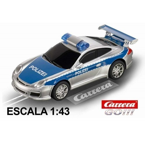 Coche Carrera Go Porsche 997 GT3 Policia