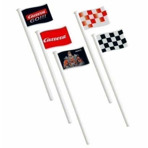 Banderas decoracion 10 ud Carrera Go