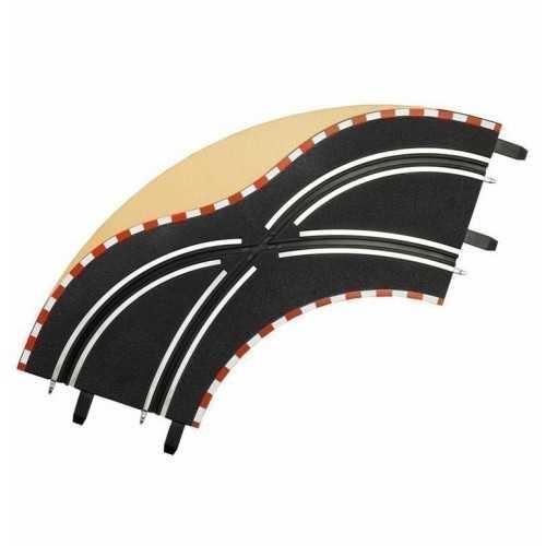 Cambio carril en curva 1/90° 2ud Carrera Go