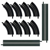 Kit de ampliacion curvas de 1 carril Carrera Go