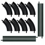 Kit de extensão de curvas de 1 pista Carrera Go