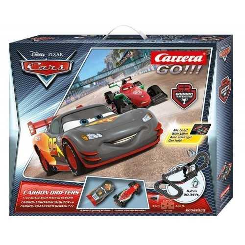 Circuito Carrera Go Disney Cars Carbon Drifters