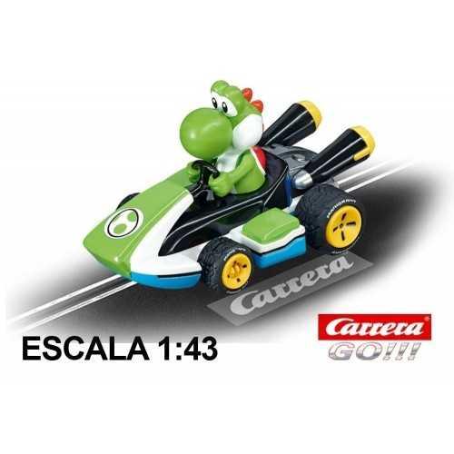 Race Car Go Nintendo Mario Kart 8 Yoshi