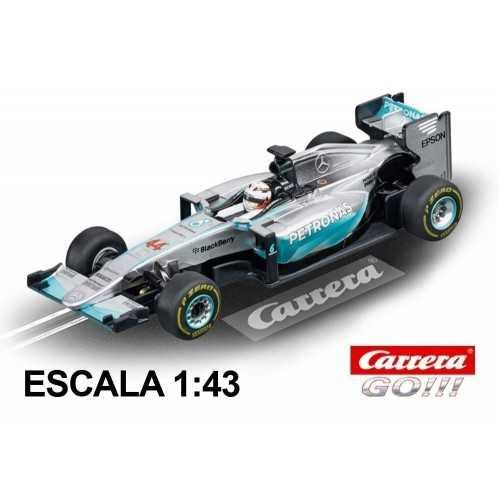 Coche Carrera Go Mercedes F1 W06 Hybrid Hamilton