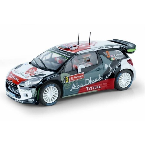 Coche de Scalextric Analogico Citroen DS3 WRC Rally Portugal