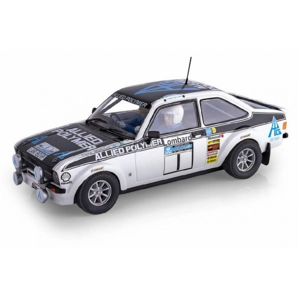 Coche de Scalextric Analogico Ford Scort MK2 Makinen-Liddon