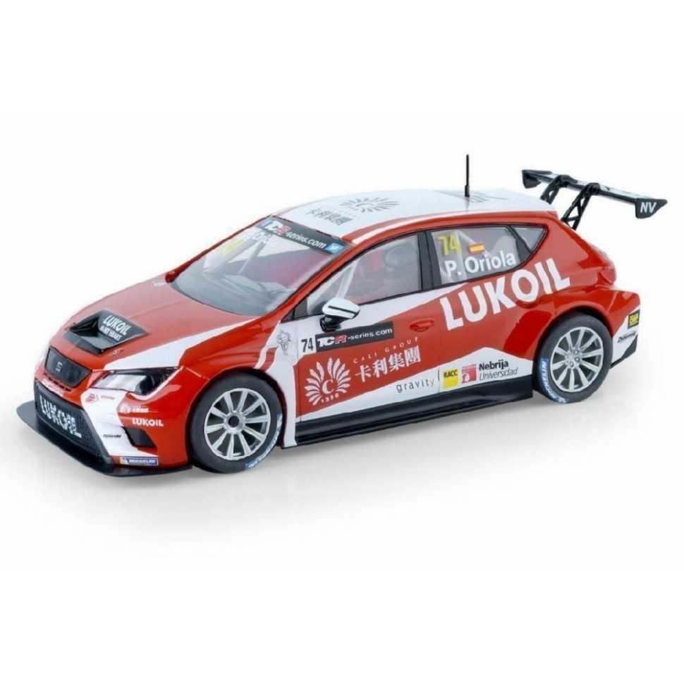 Coche de Scalextric Analogico Seat Leon TCR Oriola