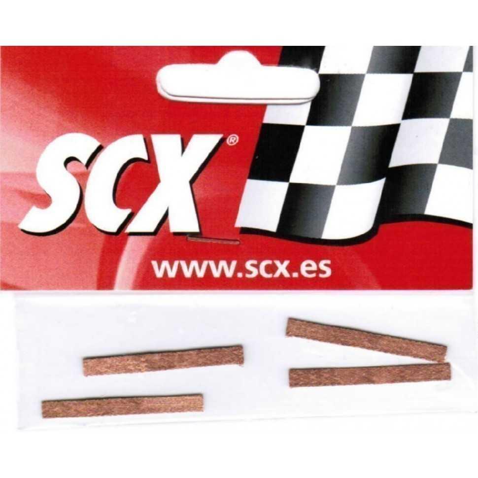 Trencillas de contacto (4 ud) Scalextric Universal