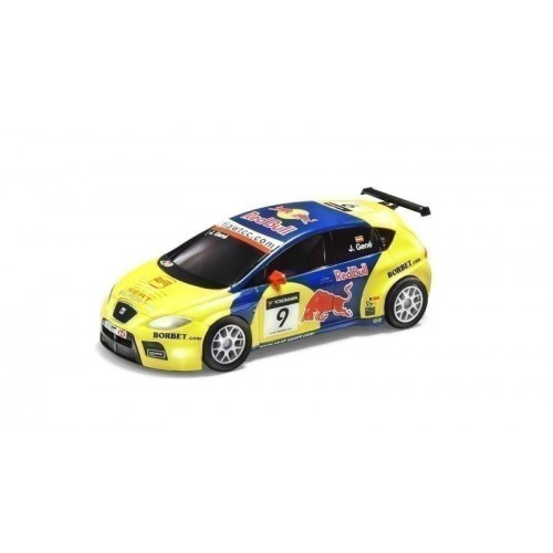 Coche de Scalextric Compact Seat Leon WTCC Gene
