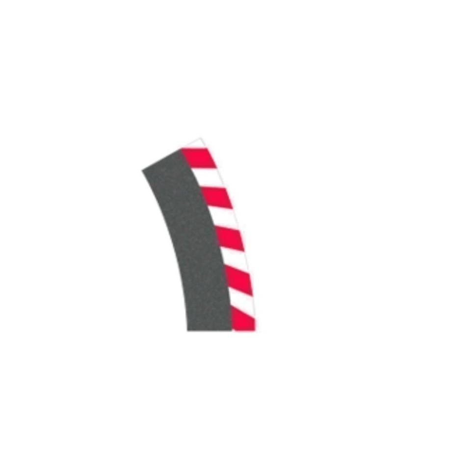 Borde exterior curva peraltada 1 30 (6ud ) Carrera 124