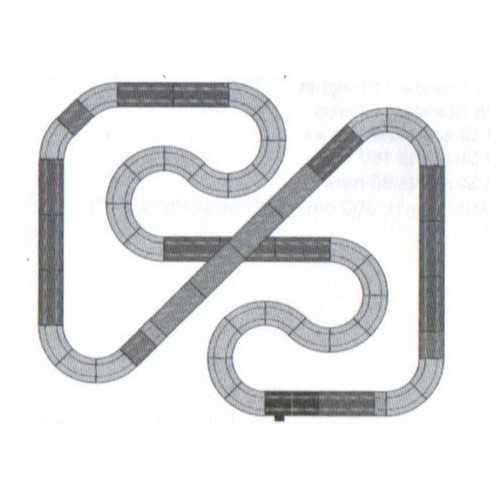 Circuito de Scalextric Analógico C3A Adrenaline Cup