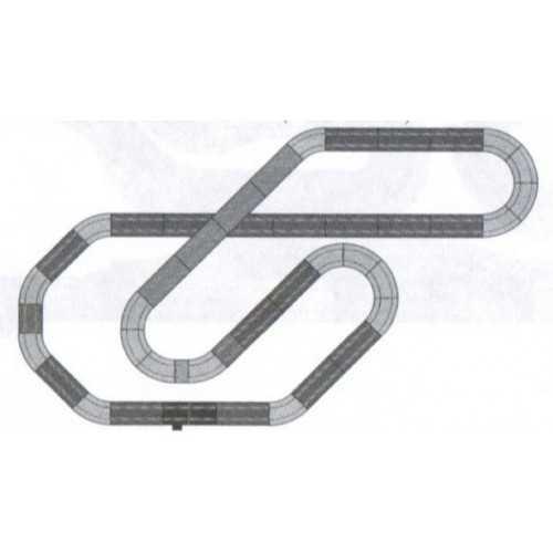Circuito de Scalextric Analógico C3B Adrenaline Cup