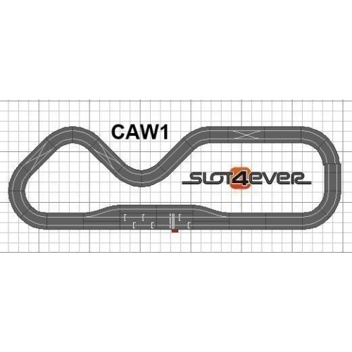 Circuito de Scalextric WOS Ampliado Full Fuel Control W1
