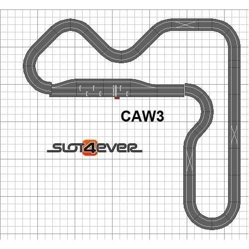 Circuito de Scalextric WOS Ampliado Full Fuel Control W3