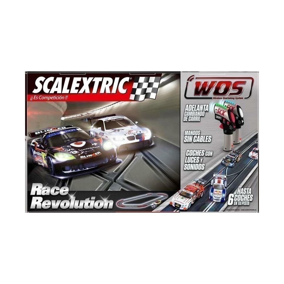 Circuito de Scalextric WOS Race Revolution