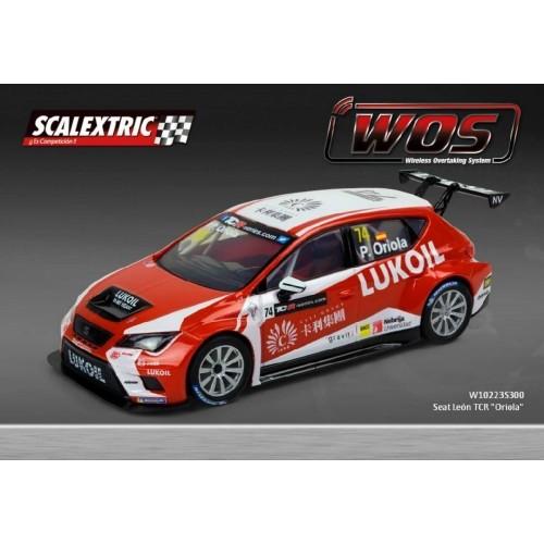 Coche de Scalextric WOS Seat Leon TCR Oriola