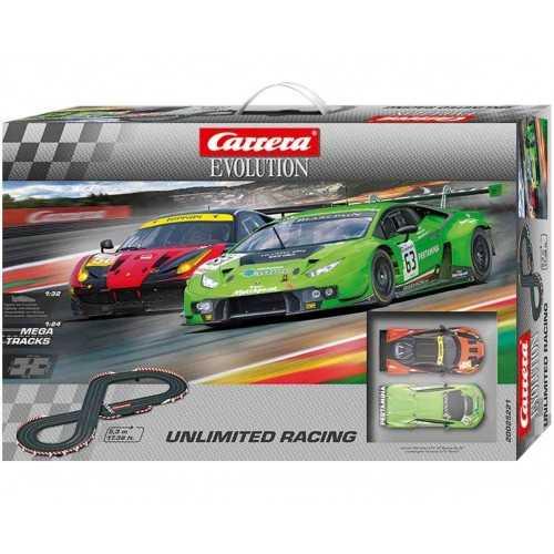 Circuito Carrera Evolution Unlimited Racing