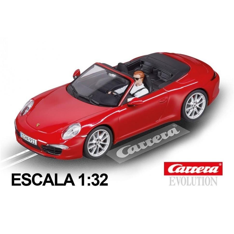 Coche Carrera Evolution Porsche 911 Carrera S Cabriolet
