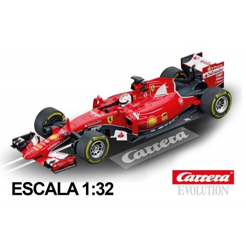Coche Carrera Evolution Ferrari F1 Vettel SF 15-T