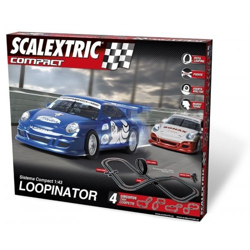 Circuito de Scalextric Compact Loopinator