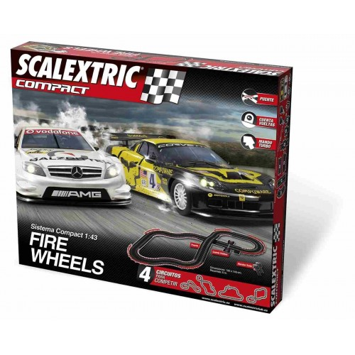 Circuito de Scalextric Compact Fire Wheels