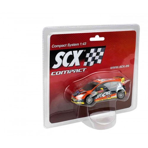 Coche de Scalextric Compact Ford Fiesta RS WRC Rally Portugal