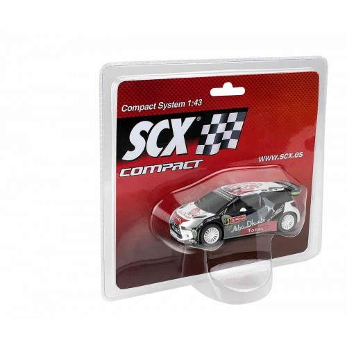 Coche de Scalextric Compact Citroen DS3 WRC Prokov