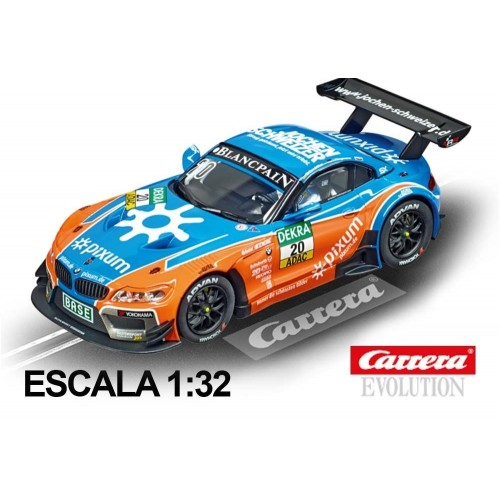 Coche Carrera Evolution BMW Z4 GT3 Schubert No 20 Blancpain