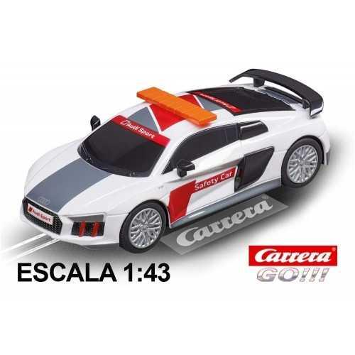 Coche Carrera Go Audi R8 V10 Plus Safety Car